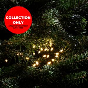 Trinity Street Christmas Trees - 180 Warm White Multifunction String Lights