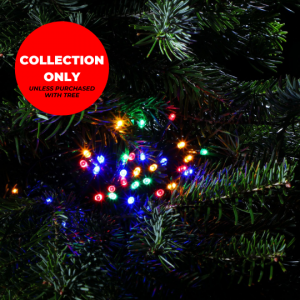 Trinity Street Christmas Trees - 360 Multicolour Multifunction String Lights